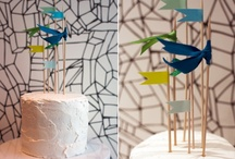 wedding cake toppers and stands / by Hillary Schuster