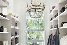 Closet Envy / Gorgeous closet inspiration for layouts, design and all around closet envy!