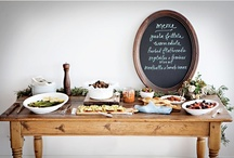 wedding food and drink / by Hillary Schuster