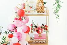 Party Ideas / Beautiful, creative, and inspirational party ideas and themes!