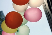 balloons / by Hillary Schuster