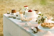 wedding dessert table / by Hillary Schuster