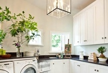 Laundry Room / Some of my favorite laundry room looks, decor and DIY projects.