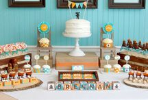 Party ideas / Fun ideas for planning birthday parties or baby showers! / by Tami Recke