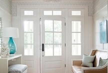 Entryways / Inspirational and beautiful photos of entryways in homes. This includes front entryway, back entryways and side entryways.