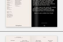 Editorial Layout / A collection of fashion and publication editorial layouts