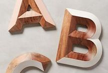 WORDS & LETTERS / Typographer's dream