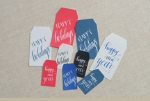 Printable gift tags / by Hillary Schuster