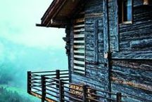 Rustic / cabin in the woods / by Pherenike
