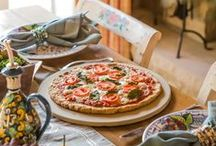 Crust & Goods / pizzas with low-carb/paleo crusts / by Amanda Zimmerman