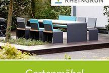 Gartenmöbel / Die eigene Linie leben.  Gegen den Strom.  Exklusive Gartenmöbel von Rheingrün® Living. Moderne Möbel Architektur  #möbel #furniture #outdoor #outdoorfurniture #accessoires