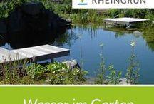 Wasser im Garten / #wasser #water #wasserspiel #teich #schwimmteich