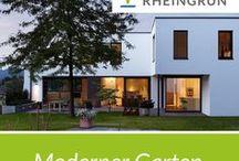 Moderner Garten / Moderne Architektur Mit Exklusiver Gartengestaltung. Von  Der Idee Bis Zum Perfekten Garten