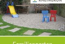 Familiengarten / Hier zu sehen Moderne und Individuelle Spielgeräte Von Rheingrün. Schaukeln, Klettergerüste, Sandkästen und vieles mehr.