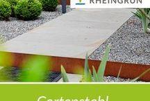 Cortenstahl / Ausgefallene Designs aus Cortenstahl von Rheingrün