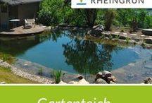 Gartenteich / Wunderschön gestaltete Natur Schwimmteiche und Pools von Rheingrün Gartengestaltung.
