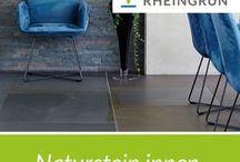 Naturstein im Innenbereich / Wandverblender / Bodenbeläge aus Naturstein von Rheingrün Gartengestaltung