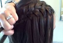 HAIR FUN / Hairdos to try, braids, buns, twists, hair decorations, hair ideas, curls, straight, hair product, tools, adult hairstyles, women's hairstyles, hairstyle instructions, hairstyle guides / by Julie Strangfeld