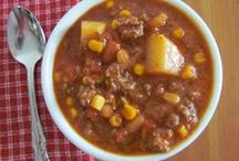 Soups, Stews & Chili / by Katie G
