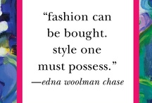 Style is an Art / My favorite styles and designs