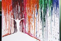 The Melted Crayon / by Kathy Field Lewis