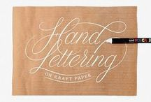Lettering / by Kenneth Hylbak