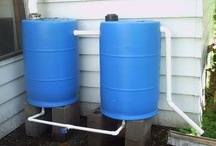 Gardening: Rain Barrels/Watering  / by Debra Collins