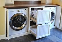 LAUNDRY ROOM IDEAS / by Julie Strangfeld