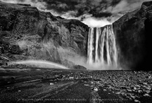 Iceland - the black and white selection