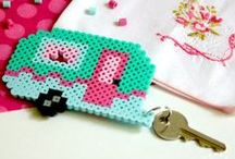 Fused Bead Patterns / Lots of cute perler, hama and fused bead ideas and patterns all on one handy pin board.
