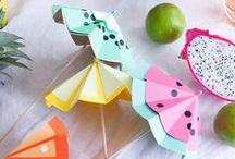 Summer Season Crafts and Images / Summer season themed crafts and images for you to enjoy. Summer is full of hot ideas and lots of fun activities for you to love.