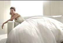 PRONOVIAS 2015 / Pronovias knows that every fairy tale has a different leading lady. That's why it has created a beautiful collection for romantic, classic brides, as well as modern, daring heroines.