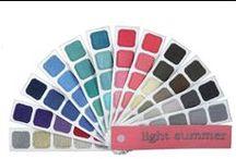 Light (aka Tinted) Summer Seasonal Color Analysis / Light summer, tinted summer, seasonal color analysis, seasonal color,  / by Julie Strangfeld