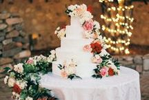 Table Inspiration | Cake Table / Linen ideas and inspiration for your cake and dessert tables at your wedding, parties and other special events.