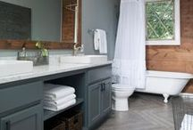 """""""Fixer Upper"""" Show bathroom vanities fabricated and installed by Design Superstore / Artisan Group member Design Superstore in Waco, has fabricated and installed nearly every vanity top for all the HGTV """"Fixer Upper"""" shows with Chip and Joanna. Visit them for your remodel www.designsuperstore.com"""