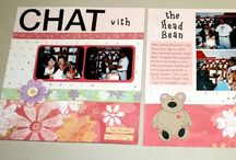 SB - Inspiration / Things to make with paper, stickers & a photo or two!