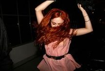 red <3 hair / by María Miranda