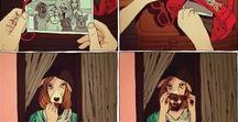oh beautiful comic / comic, comic pages and comicy illustrations