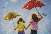 Umbrellas / by Margie Lustick