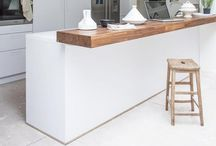 .Kitchen. Keuken. / Loves Kitches who are Bright White, Industrial or with wood.