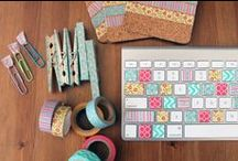 Washi / A board full of washi tape inspiration!