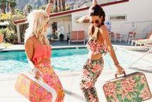 "Miami Beach Vintage / ""I'm in Miami Bitch"" - Un regalo para mi amiga @LourdesGVazquez /twitter    #Summer #Miami #Vintage #Pastel #Party #Artdeco #Beach #Pink #Pale #Tren #Hot"