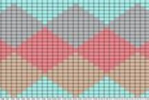 Colorwork Graphs & Charts / Color work graphs and general crochet charts.