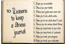 Fitness Journal. Weightloss Diary. Training Tracker. / This board is all about writing down your journey. Weightloss, health, fitness. Being creative and a wonderful way to keep you occupied!  / by Coach Fit Puzzle
