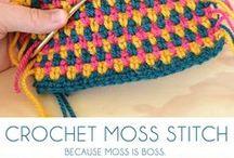 Crochet Stitches & Techniques / Various crochet stitches, and techniques