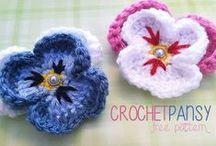 Crochet Motifs & Flowers / Motifs, Flowers, Appliques