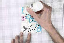 FSJ Journey Glaze / Ideas, tips & inspiration for using this fun product.  You can find Journey Glaze (and more!) on my FSJ website http://tinyurl.com/JourneyGlaze