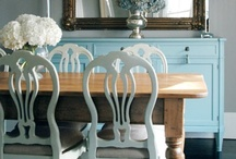 Dining / dining rooms + place settings + dinner parties / by Becky F