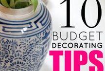 Decor: Ideas & Tips / by Genifer Pohrman