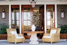 outdoor ideas / Patios, outdoor rooms, pools, pool areas, fire pits, outdoor kitchens, etc. / by Annmarie LaMorticella